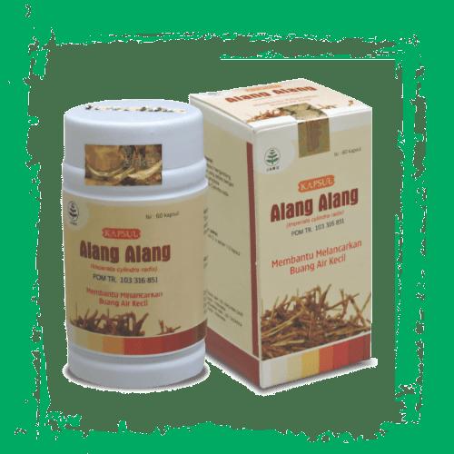 herbal kapsul ekstrak alang-alang