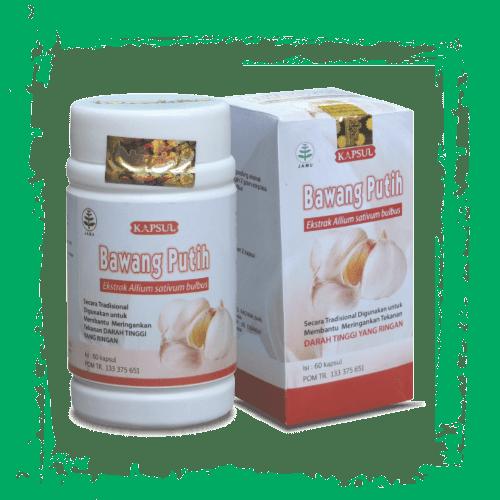 herbal kapsul ekstrak bawang putih