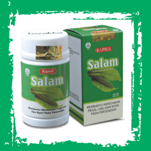 herbal kapsul ekstrak daun salam