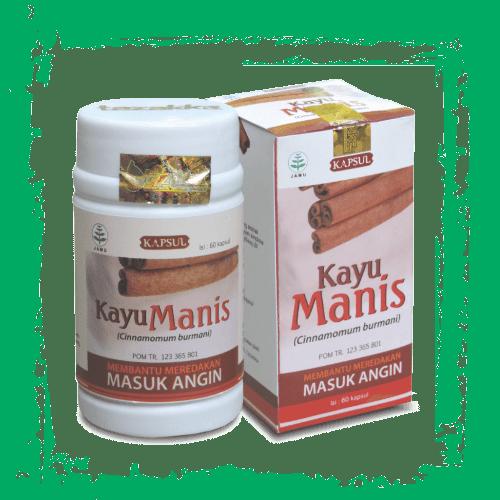 herbal kapsul ekstrak kayu manis
